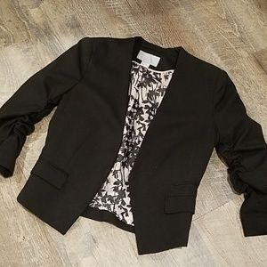 H&M Cropped Black Blazer